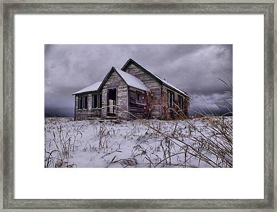 Swan Valley School  Framed Print by Dave Bower