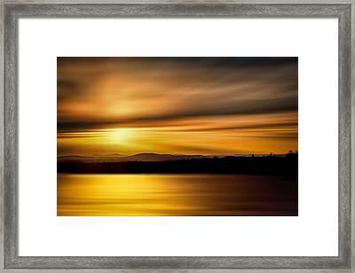 Swanson Lake Framed Print by Gary Smith