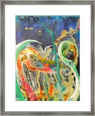 Swansong Framed Print by Dan Cope