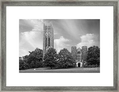 Swarthmore College Clothier Hall Framed Print by University Icons