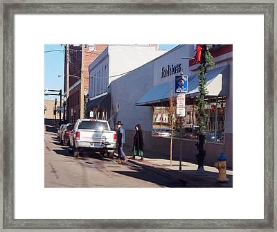Swartzentruber Amish Framed Print by R A W M
