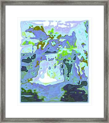 Swash Framed Print