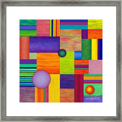 Swatches Framed Print by David K Small