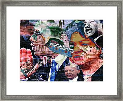Swearing In Framed Print
