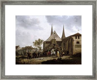 Swebach-desfontaines, Jacques Fran�ois Framed Print