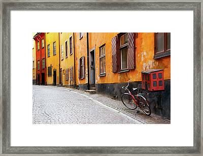 Sweden, Stockholm Framed Print by Jaynes Gallery