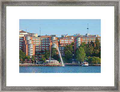 Sweden, Stockholm - Modern Offices Framed Print by Panoramic Images