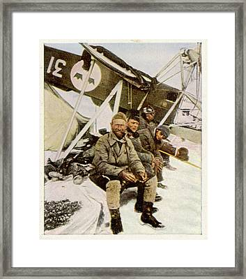 Swedish Aviator Lundborg, Who Framed Print by Mary Evans Picture Library