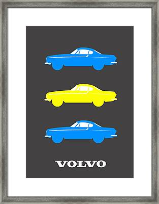 Swedish Icon - Volvo P1800 Framed Print