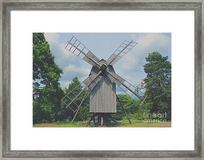 Swedish Old Mill Framed Print by Sergey Lukashin