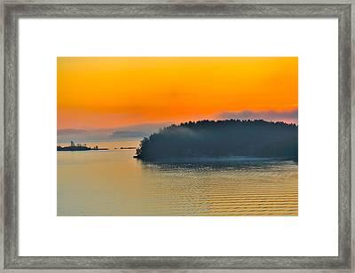 Swedish Sunrise Framed Print by Marianne Campolongo