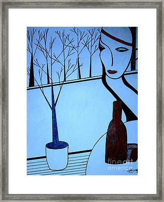 Swedish Winter Framed Print by Bill OConnor