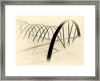 Sweep Framed Print by Ed Boudreau