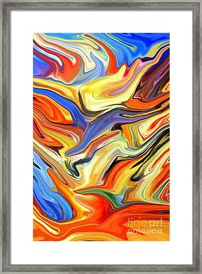 Sweeping Skies Framed Print by Chris Butler