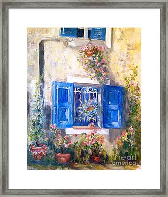 Sweet Ansouis Framed Print