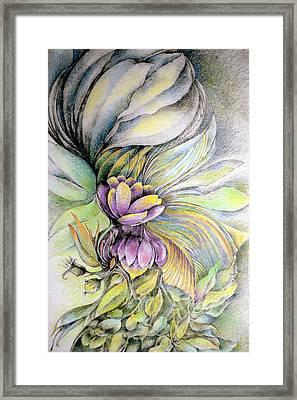 Sweet Bouquet Framed Print