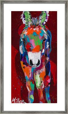 Sweet Boy Framed Print by Tracy Miller