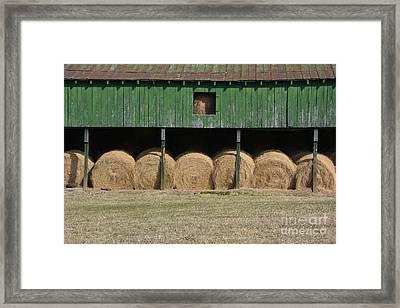 Sweet Briar Farm Framed Print