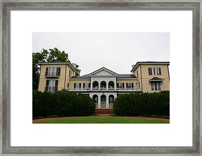 Sweet Briar House 1 Framed Print