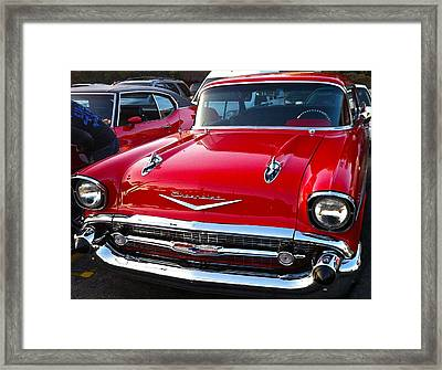 Sweet Chevy Framed Print by Denise Mazzocco