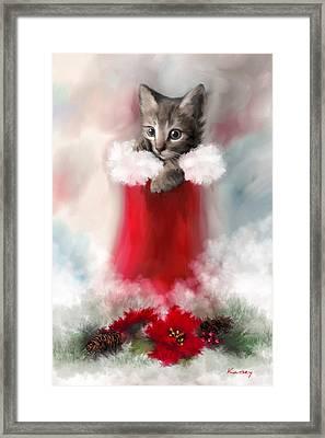 Sweet Christmas Framed Print