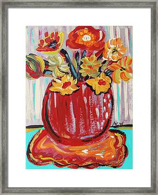 Sweet Collection Framed Print by Mary Carol Williams