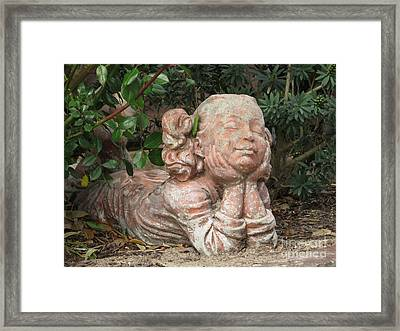 Framed Print featuring the photograph Sweet Day Dreaming by Ella Kaye Dickey