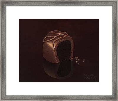 Sweet Delight Framed Print by Del Malonee