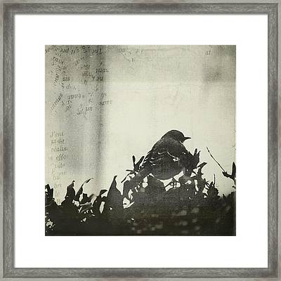 Framed Print featuring the photograph Sweet Disposition by Trish Mistric