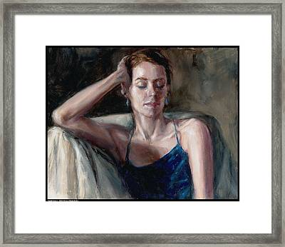 Sweet Dream Framed Print by Diana Moses Botkin