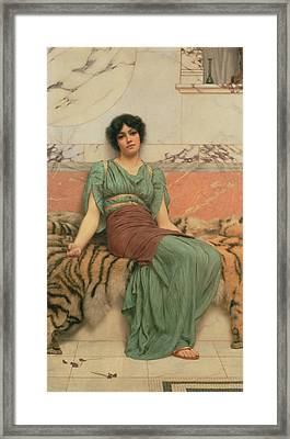 Sweet Dreams Framed Print by John William Godward