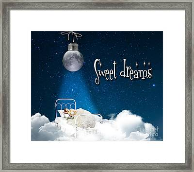 Sweet Dreams Framed Print by Juli Scalzi