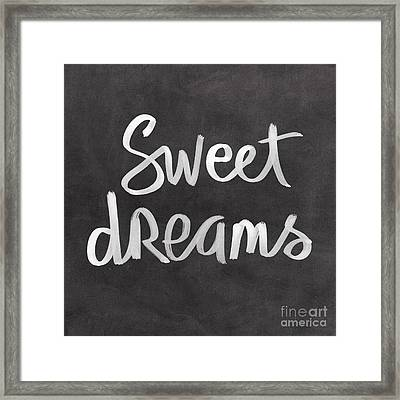 Sweet Dreams Framed Print by Linda Woods