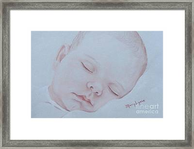 Sweet Dreams Framed Print by Mary Lynne Powers