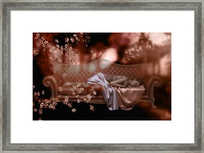 Sweet Dreams Framed Print by Shanina Conway
