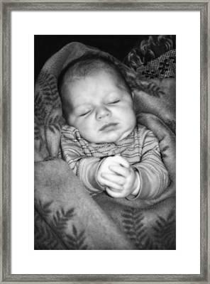 Sweet Dreams Framed Print by Susan Leggett