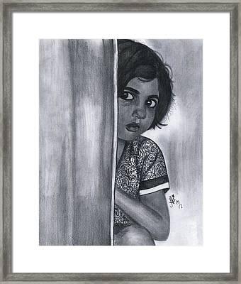 Sweet Girl Framed Print