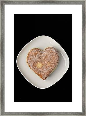 Sweet Heart Framed Print by Matthias Hauser