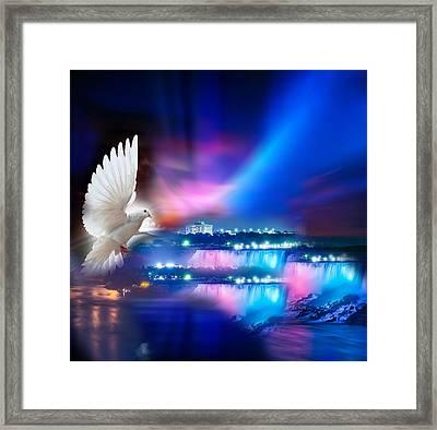 Sweet Holy Spirit Framed Print