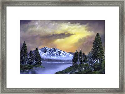 Sweet Home Framed Print by Jamil Alkhoury