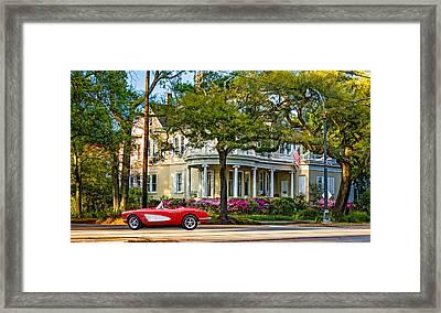Sweet Home New Orleans 3 Framed Print by Steve Harrington