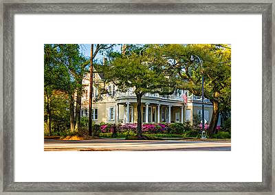 Sweet Home New Orleans Paint Framed Print by Steve Harrington