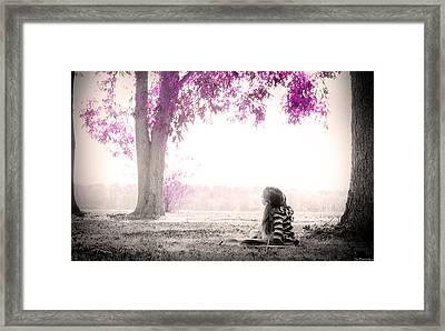 Sweet Imagination  Framed Print by Susan Bordelon