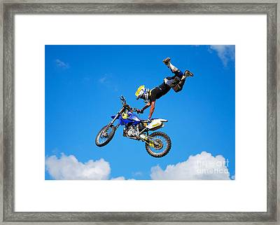 Sweet Jump Framed Print