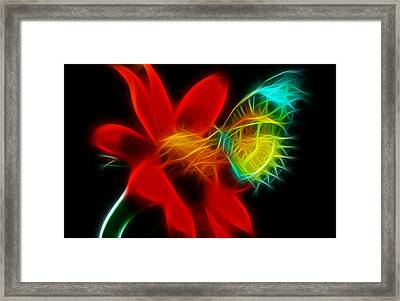 Framed Print featuring the digital art Sweet by Karen Showell