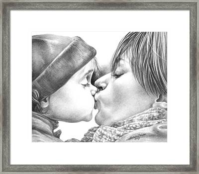 Sweet Kiss Framed Print