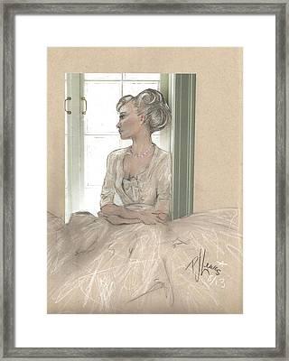 Sweet Lady Anne Framed Print by P J Lewis