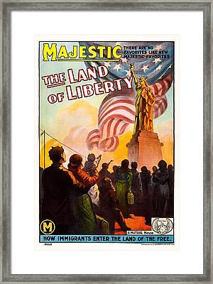 Sweet Land Of Liberty, Aka The Land Of Framed Print by Everett