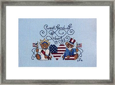 Sweet Liberty Framed Print