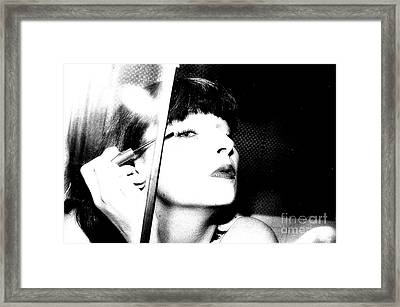 Sweet Lips Of Love Framed Print by Steven Macanka